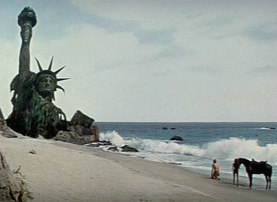 The Statue of Liberty in Planet of the Apes
