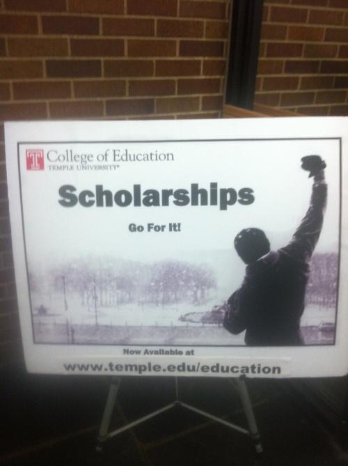 Scholarships?