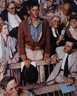 Norman Rockwell, Freedom of Speech, An Version