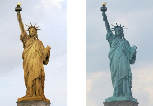 Lady Liberty's True Colors