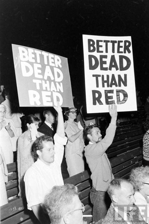 'Better Dead Than Red'