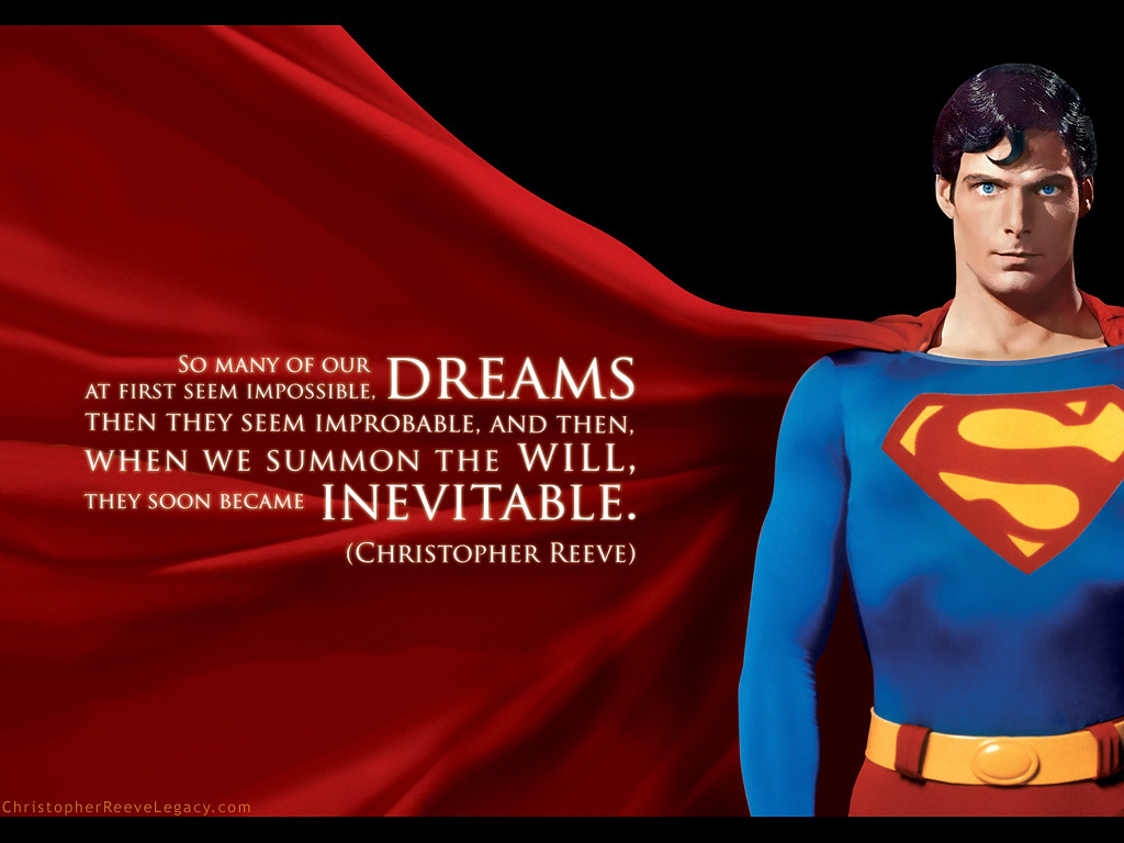 "superman the story of christopher reeve essay Christopher reeve dead at 52 ""superman"" actor became champion for paralysis research oct 11, 2004, abc news christopher reeve, the superman actor who."
