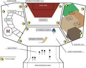 Gameland Map