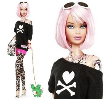 Tattoed Barbie
