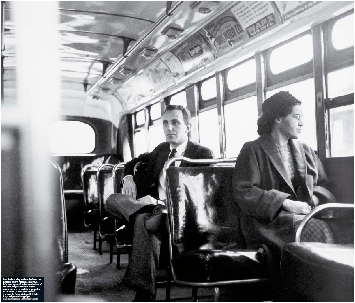 the story of rosa parks and the civil rights movement Tuesday marks the 60th anniversary of the 1955 montgomery bus boycott and rosa parks' notable quotes illustrate the bravery behind the civil rights movement parks' refusal to move to the back of the bus after a white man boarded inspired the alabama.