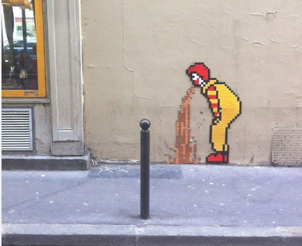 Mcdonalds As A Symbol Used In Art Americaniconstemple