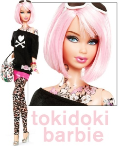 Tokidoki Tattooed Barbie