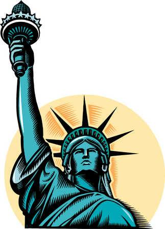 Statue Of Liberty As A Symbol Of America Americaniconstemple